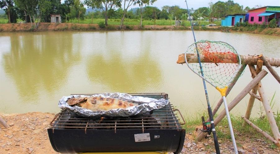 Lake fishing in Pattaya