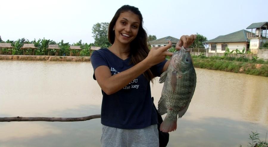 Озерная рыбалка в Паттайе
